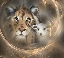 """lion lamb """"lion lamb"""" Christ Jesus Christian Spirituality gifts popular """"best selling"""" beautiful by JackieFlaten"""