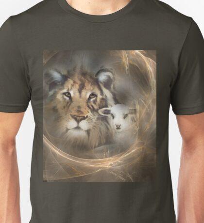 """lion lamb """"lion lamb"""" Christ Jesus Christian Spirituality gifts popular """"best selling"""" beautiful Unisex T-Shirt"""