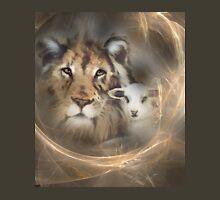 """lion lamb """"lion lamb"""" Christ Jesus Christian Spirituality gifts popular """"best selling"""" beautiful T-Shirt"""
