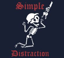 Simple Distraction by lilterra Kids Tee