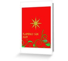Flamenco Sun Ole!!! Greeting Card