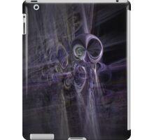 alien space modern galactic ufo modern,contemporary abstract digital purple iPad Case/Skin