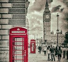 London Telephone Box by Nigel R Bell