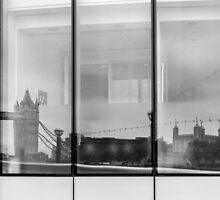 Tower Reflection by Nigel R Bell