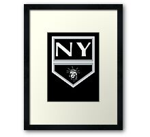 Los Angeles to New York  Framed Print