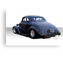 1937 Chevrolet Coupe 'Your View'  Metal Print