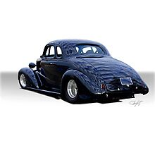 1937 Chevrolet Coupe 'Your View'  Photographic Print