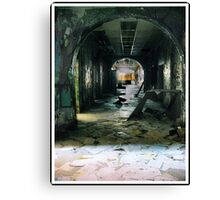 hallway to... Canvas Print