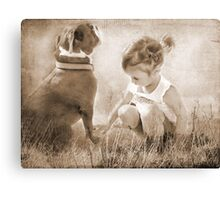 A Touch of Grass Canvas Print