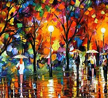 The Song Of Rain — Buy Now Link - www.etsy.com/listing/225860887 by Leonid  Afremov