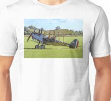 R.E.8 Reproduction A3930 at Old Warden Unisex T-Shirt