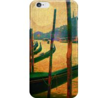 venice canal painting iPhone Case/Skin