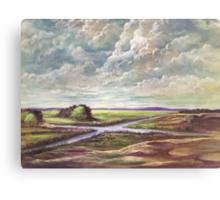 Water Cross Canvas Print