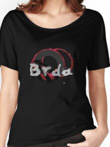 Brda wineyards and wine stain Women's Relaxed Fit T-Shirt