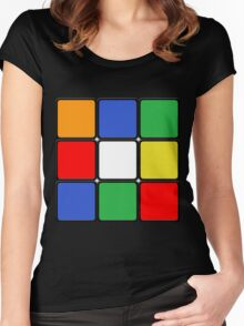 The Cube Women's Fitted Scoop T-Shirt