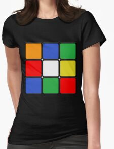 The Cube Womens Fitted T-Shirt