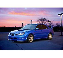 2007 Subaru STi Sports Sedan Photographic Print