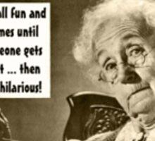 Crazy Grandma Sticker