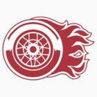 Detroit Flames - Calgary Red Wings by Phneepers