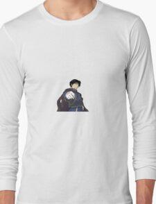 Roy Mustang Sticker Long Sleeve T-Shirt