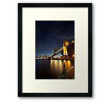 Sydney Harbour Bridge - 5D Mk II Framed Print