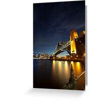 Sydney Harbour Bridge - 5D Mk II Greeting Card