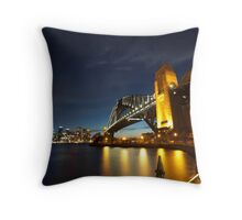 Sydney Harbour Bridge - 5D Mk II Throw Pillow