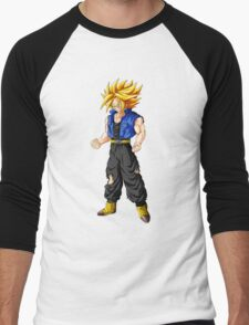 Super Saiyan Future Trunks Sticker or Pillow Men's Baseball ¾ T-Shirt