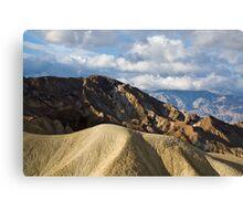 Death Valley Peaks Canvas Print