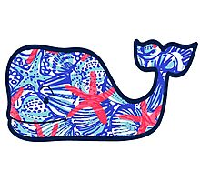 Lily Pulitzer Vineyard Vines Whale Photographic Print