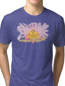 Virgo Shaka - Heaven Supremacy on Evil Spirits of Rivers and Mountains Tri-blend T-Shirt