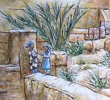 Desert Oasis by Vanessa Zakas
