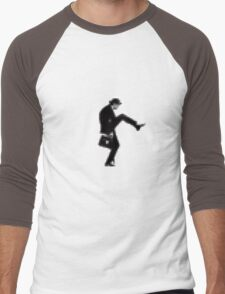 """A Walk"" Men's Baseball ¾ T-Shirt"