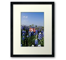 Earth, I like this place. Framed Print