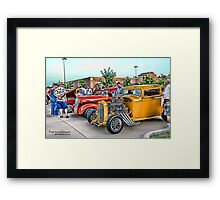 Hot Rod Classics Framed Print