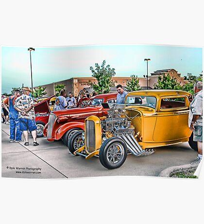 Hot Rod Classics Poster