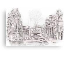 London tourist spots Canvas Print
