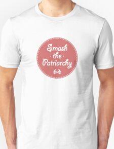 Smash The Patriarchy Feminist Shirt Unisex T-Shirt