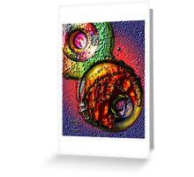 SPACIOUS ETERNAL Greeting Card