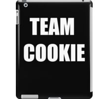 TEAM COOKIE (WHITE) iPad Case/Skin