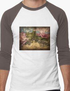 A Walk In The Mystical Woods - Infrared Series Men's Baseball ¾ T-Shirt