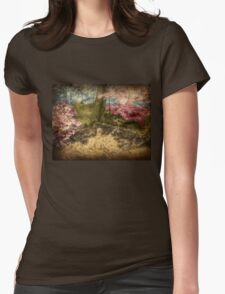 A Walk In The Mystical Woods - Infrared Series Womens Fitted T-Shirt