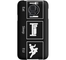 Eat, Sleep, BJJ Samsung Galaxy Case/Skin