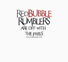 RB Rumble shirt ~ Off with the pixels (black text) Unisex T-Shirt