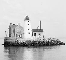 Island Lighthouse, 1896 by historyphoto
