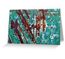 Jazz in Jade Greeting Card