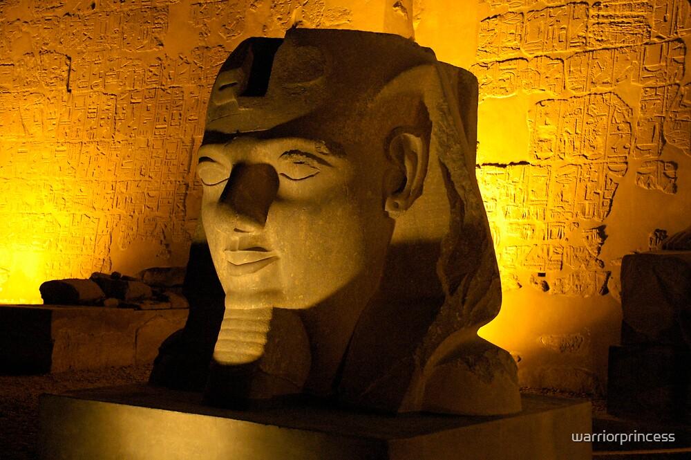 Silent Pharaoh by warriorprincess