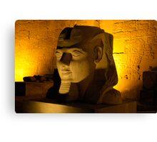 Silent Pharaoh Canvas Print