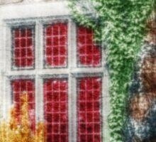 Colorful Castle Garden - Infrared Series Sticker
