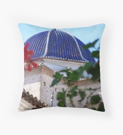 The Floral Dome Throw Pillow